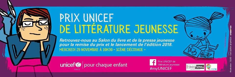 Prix de littérature jeunesse UNICEF 2017