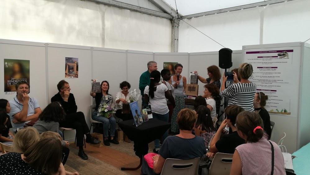 Les Robinsons de l'île de Tromelin lauréats du prix du Roman Historique Jeunesse 2018