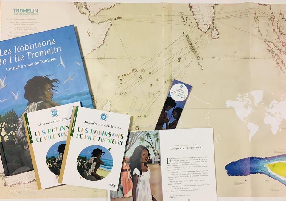 Les Robinsons de l'île Tromelin en version poche!