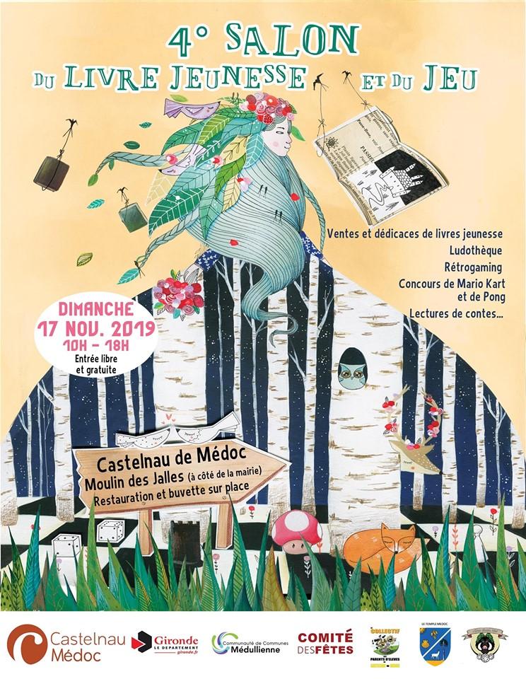 Salon du Livre Jeunesse et du Jeu de Castelnau en Médoc